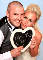 Linzi and Wayne Photobooth